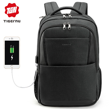 双肩电脑包学生书包商务旅行大容量背包
