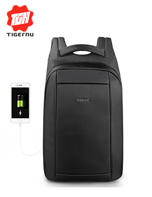 Tigernu Hidden Anti theft Zipper 15.6 inch Men School Laptop Backpacks Water Repellent Travel 20L Mu