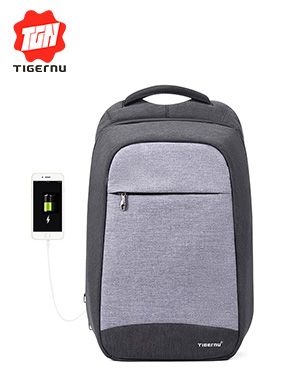 Tigernu Fashion Women's Backpack Daily Backpack College School Bag for Teenager Gilrs 15.6inch Anti-