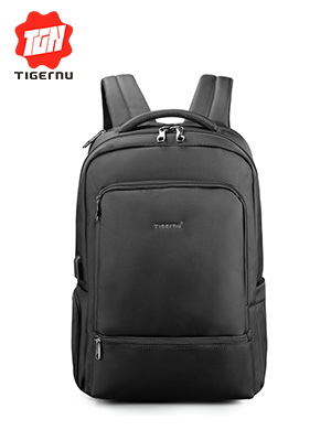 Water Repellent Nylon Anti theft 22L Men 15.6 inch Laptop Backpack USB Recharging Travel Male Mochil