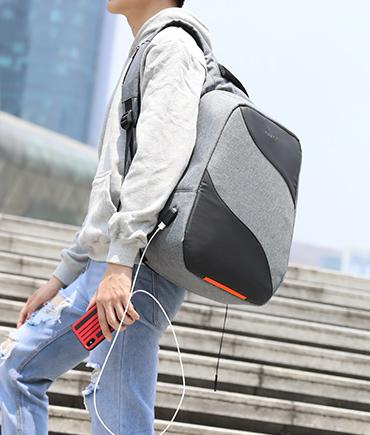 防盗双肩包男休闲旅行电脑包