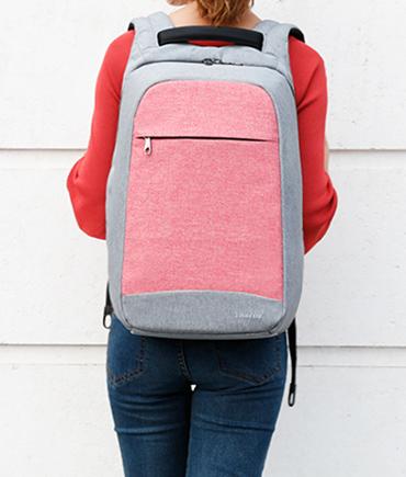 商务男女士双肩包15.6寸充电电脑包